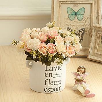 Amazon De Flowersmagnate Kunstliche Blumen Dekoration Home