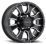 16x6 Mamba 860M Matte Black Trailer Wheel 6x5.5