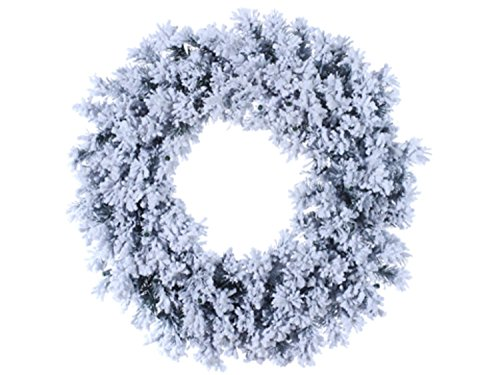 & Glittered Chestnut Jubilee Pine Artificial Christmas Wreath- Unlit ()