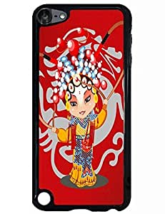Creative Artsy Hard Phone Case for Ipod Touch 5th with The Design Of Peking Opera Actor