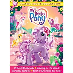 My Little Pony: Classic Movie Collection (Princess Promenade, Dancing In The Clouds, Runaway Rainbow & Friends Are Never Far Away)