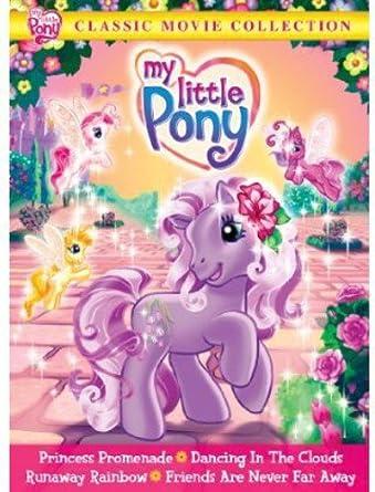 amazon com my little pony classic movie collection princess