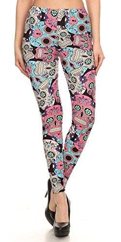 Same Mind Inc Ultra Soft Fabric Hot Print Women's Leggings. (Ultra Soft Fabric)