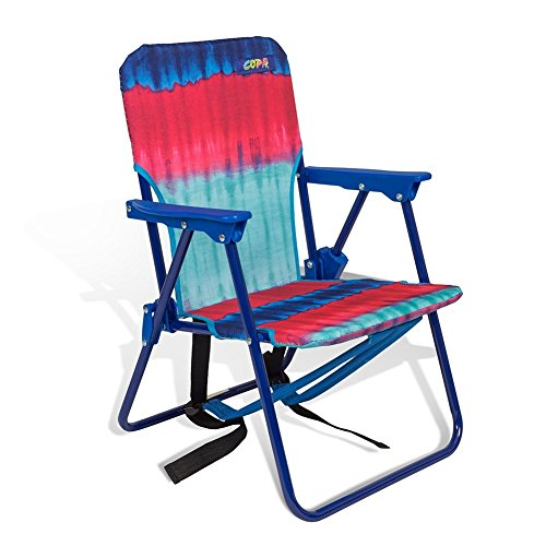 Copa Beach Tie Dye Pink Child Beach Chair with backpack ...