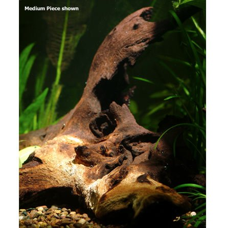 Zoo Med Mopani Wood Aquarium Tag 6-8in by Zoo Med