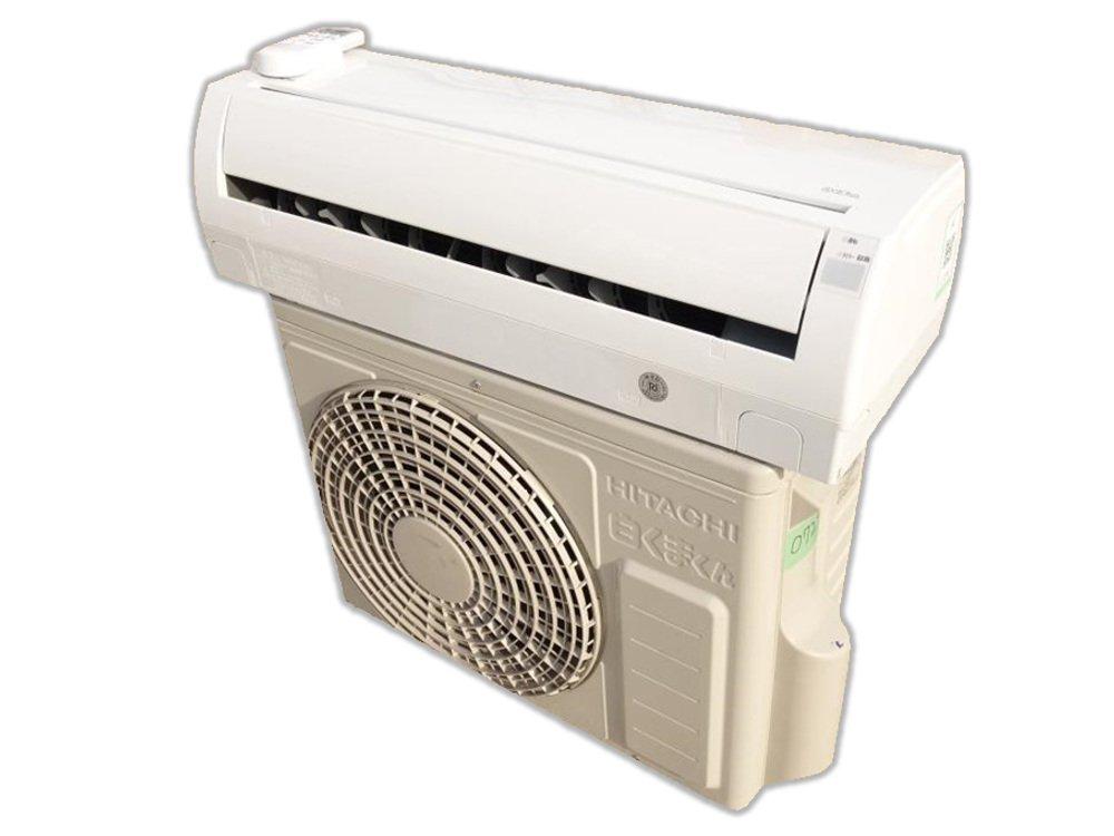 日立 2.2kW 住宅設備用ルームエアコン 『白くまくん AJシリーズ』 RAS-AJ22E-W (クリアホワイト) B00VUO4I80
