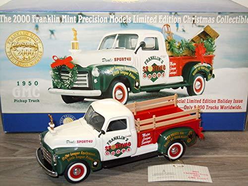 1950 GMC Pickup Truck Christmas Franklin Mint 1:24