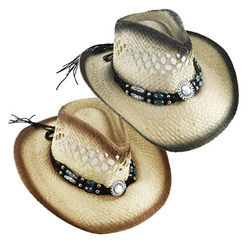 Faddism Rodeo C189 Women Urban Fashion Cow Girl Hat (Cow Girl Hat)