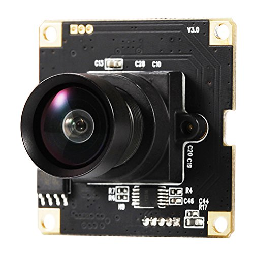 USB Web PC Camera 1080P HD Megapixel Camera for Video Streaming or Snapshot with 120degree wide angle UVC for Linux Windows Android Mac OS,Raspberry Pi (USB Camera (Cmos Module)