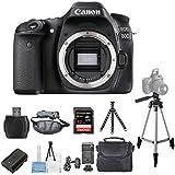 Canon EOS 80D DSLR Camera (Body Only) 1263C004 [International Version] (Pro Bundle)