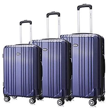 Image of Luggage Lightweight Suitcases, Expandable Luggage Set, Double Wheels Spinner Luggage, 3 pcs set(20''24''28'')