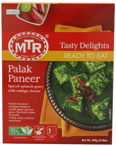 MTR Palak Paneer, 10.58 Ounce Boxes (Pack of 5) by MTR