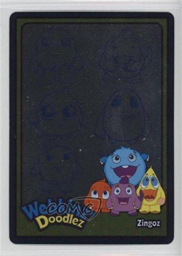 (Zingoz (Trading Card) 2007 Webkinz Series 1 - Series 1 Doodlez #D1-02)