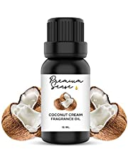Coconut Cream Premium Quality Fragrance Oil 15ml – Suitable for Gel Candles, Soap, Candles/Incense, Skin and Hair Care – Exquisite and Intense (15ml) (Coconut Cream)