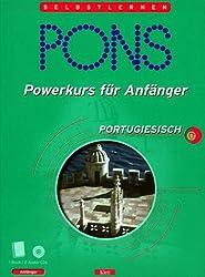 PONS Powerkurs für Anfänger, Audio-CDs m. Lehrbuch, Portugiesisch, 2 Audio-CDs m. Lehrbuch