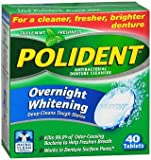 Polident Overnight 40ct Size 40ct Polident Overnight 40ct