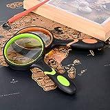 Ocim (2 Pcs) 10X Magnifying Glass, Handheld Reading