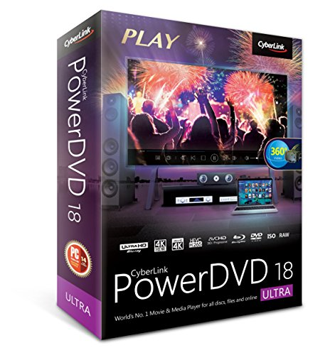 Software : Cyberlink PowerDVD 18 Ultra: Most Powerful Media Player For PCs