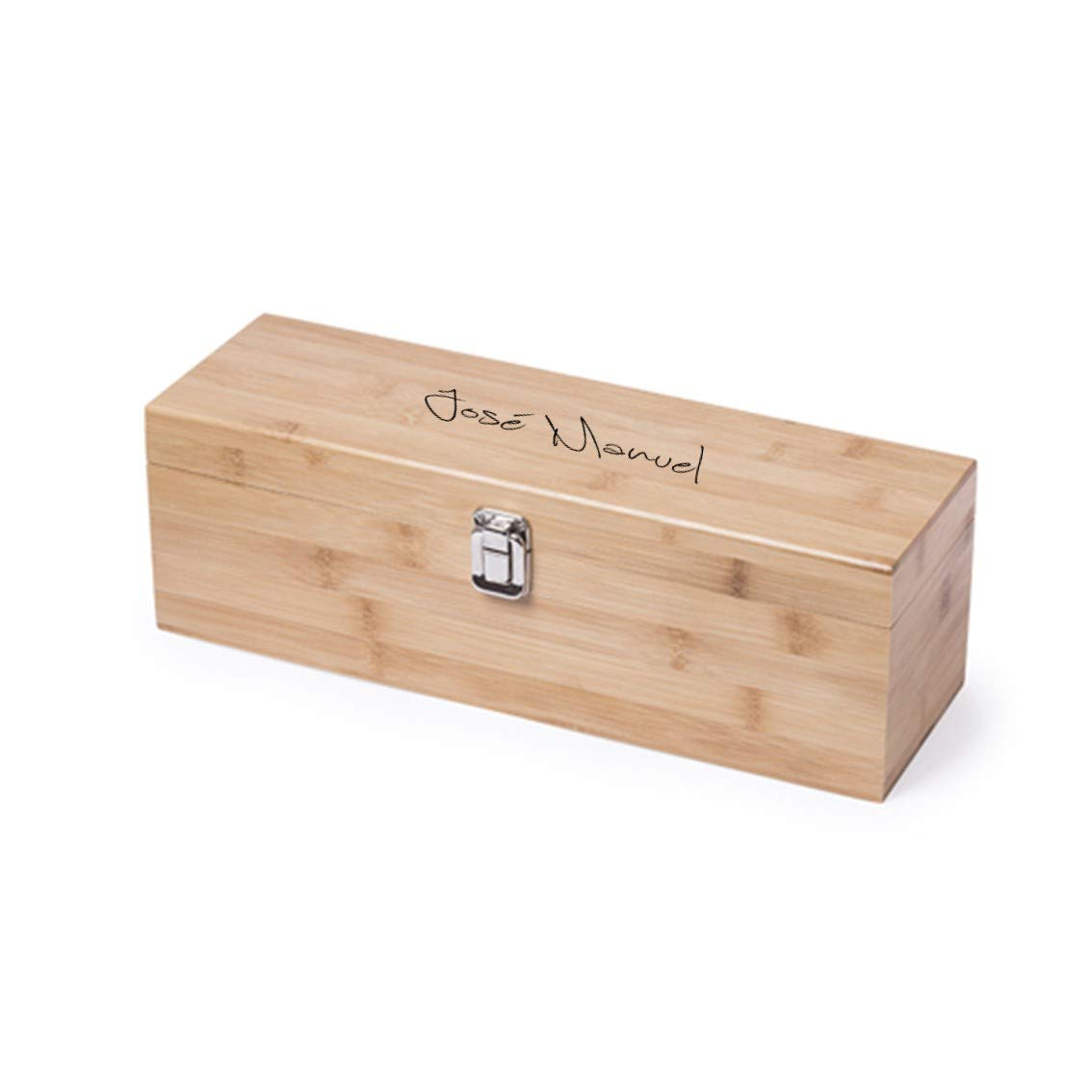 Caja para Botella de Vino con accesorios incluidos ...