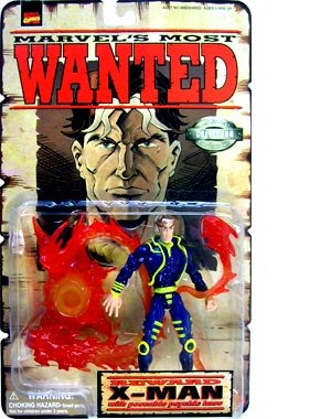Marvels Wanted X Man Action Figure product image