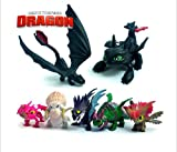 7 Pcs How To Train Your Dragon Mini Figure Night Fury Toothless Baby Toys Kids Action Figure Toy - Smart Buy