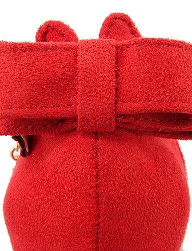 Rouge Chaussures Pointu Talons Talon Gris Noir Femme Black Mariage Soirée Habillé Bout Talons amp; Tissu ShangYi Evénement Aiguille Rq8HCw68