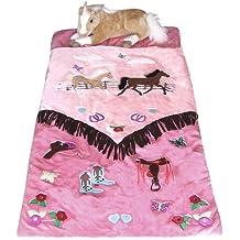 Cowgirl V Fringe Western Horses Kids Slumber Sleeping Bag