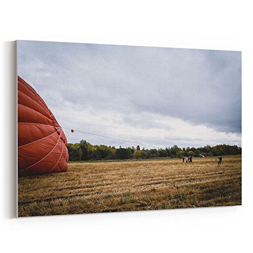 Westlake Art - Air Hot - 5x7 Canvas Print Wall Art - Canvas Stretched Gallery Wrap Modern Picture Photography Artwork - Ready to Hang 5x7 Inch