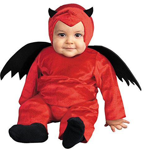 Costume Baby Satan (UHC Baby's D' Little Devil Red Winged Satan Toddler Child Halloween Costume,)