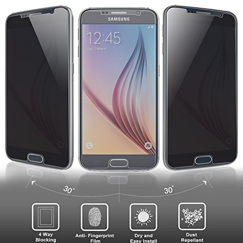Tempered Glass Screen Protector Guard For Samsung Galaxy S5 SV - 7