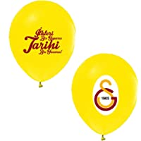 Balonevi Galatasaray Karışık 100 Adet 12 inch Balon