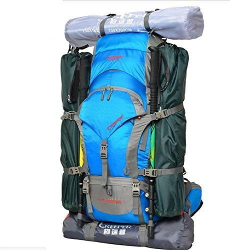 ROBAG Outdoor-Rucksack wandern Tasche camping wasserdicht große Kapazität Rucksack Schulter Männer und Frauen reisen Trekking Rucksack Rucksack