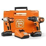 fein drill - Fein 18V Li-Ion Drill Driver & Impact Driver Fastening Kit