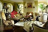 AICO Living Room Set Chateau Beauvais AI-758