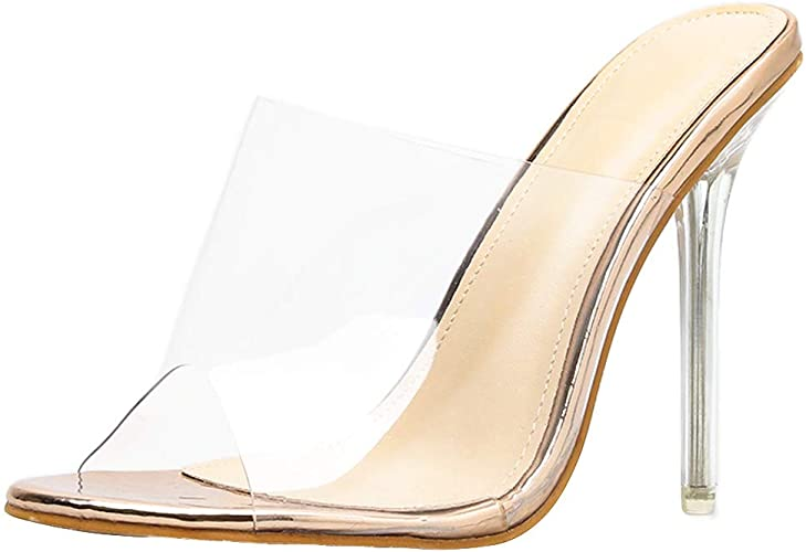 Crystal Sandals Women Shiny High Heels