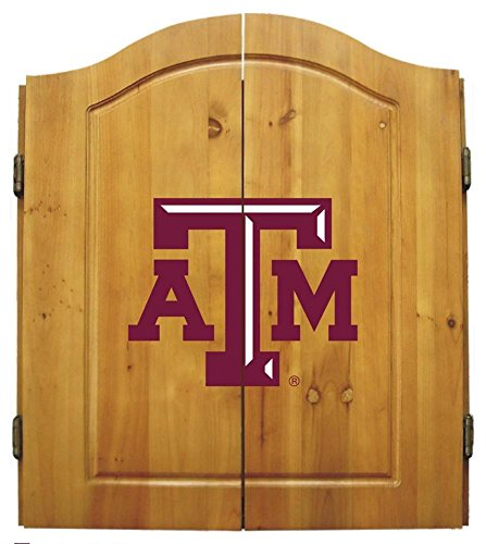 Imperial NCAA Dart Cabinet Set - Texas A&M University by Team Bar Stools