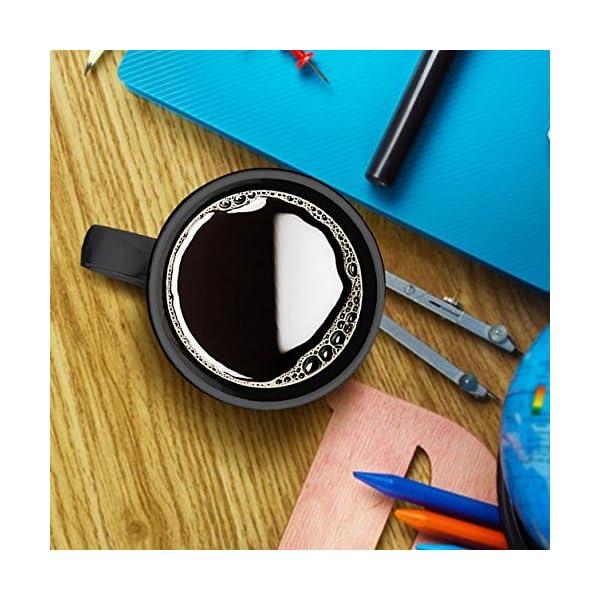 Loves Border Collie Tea Cup, Cold Brew Coffee Mug 11 oz 3