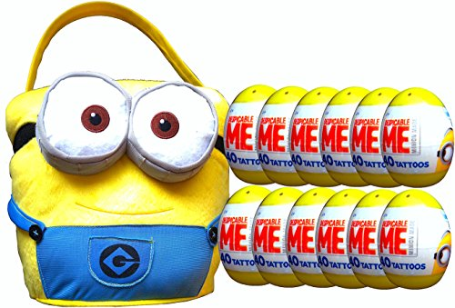 Despicable Me Minions Jumbo Plush Easter Basket with Easter