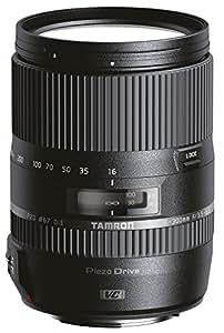 Tamron AF 16-300 mm F/3.5-6.3 Di II VC PZD MACRO - Objetivo para cámara réflex Nikon (zoom óptico 18.75x, motor de enfoque, diámetro filtro 67 mm), color negro