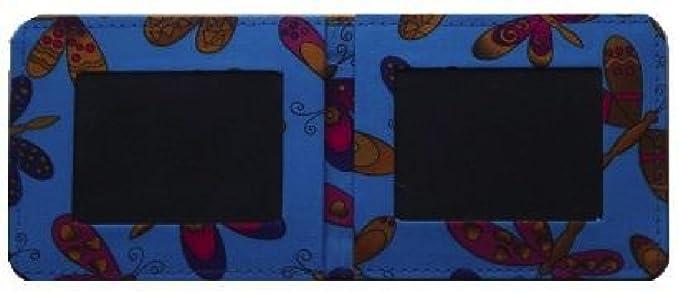 Miss Pretty London Azul de viaje diseño de mariposas/tarjeta ...