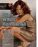 Erica Leerhsen Clipping Magazine photo 1pg 8x10 orig M8195
