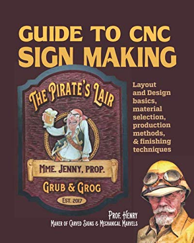 Photo Guide to CNC Sign Making: Layout & design, production methods, and finishing techniques