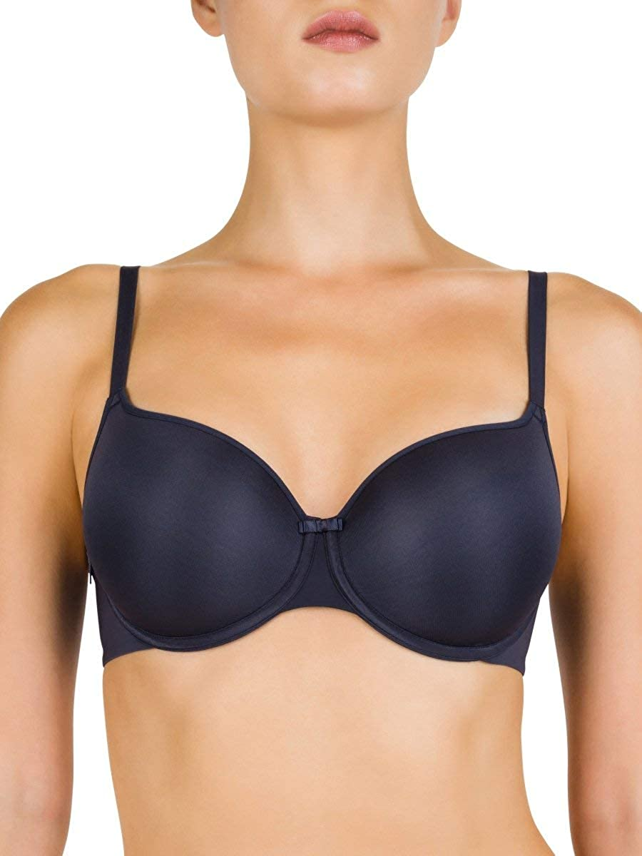 Conturelle 806813-9 Womens Solid Blue Night Navy Padded Underwired Full Cup Bra