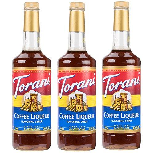 Da Vinci Kahlua Syrup - Torani Coffee Liqueur Syrup (25.4oz) 3 Pack