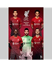 Liverpool FC 2022 - A3-Posterkalender: Original Danilo-Kalender [Mehrsprachig] [Kalender]