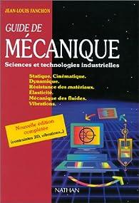 Guide de mécanique par Jean-Louis Fanchon
