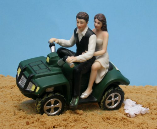 ATV Camo Wedding Cake Topper by Magical Day by Magical Day (Image #1)