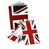 UK Flag Travel Set- Passport Cover + 2 Large Luggage Tags