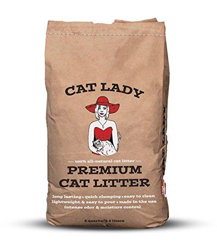 Cat Lady Premium Organic Cat Litter, 8-Quart