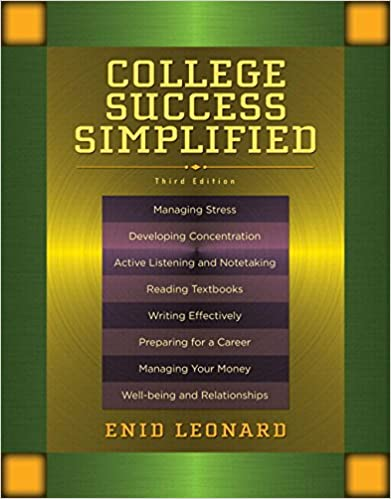 college success simplified 3rd edition